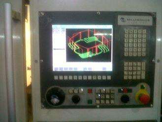 Panel de control centro de mecanizado
