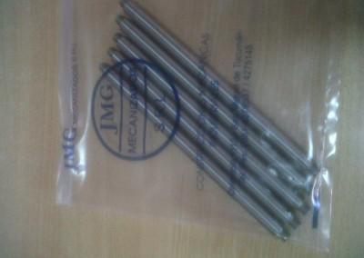 ejes inox embalados para entrega